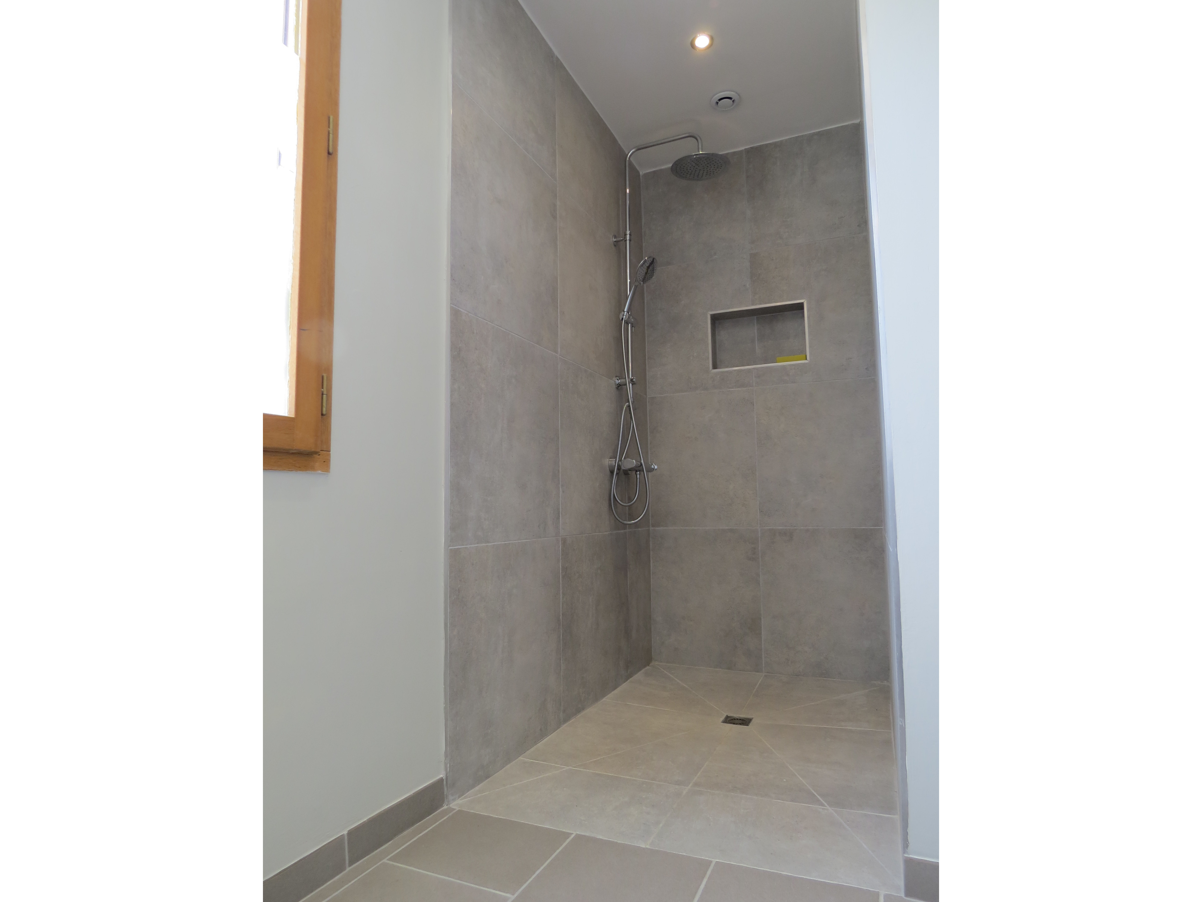 Front shower